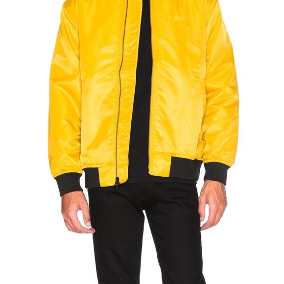 Stussy Other - Stussy Mustard Bomber jacket NWT xxl